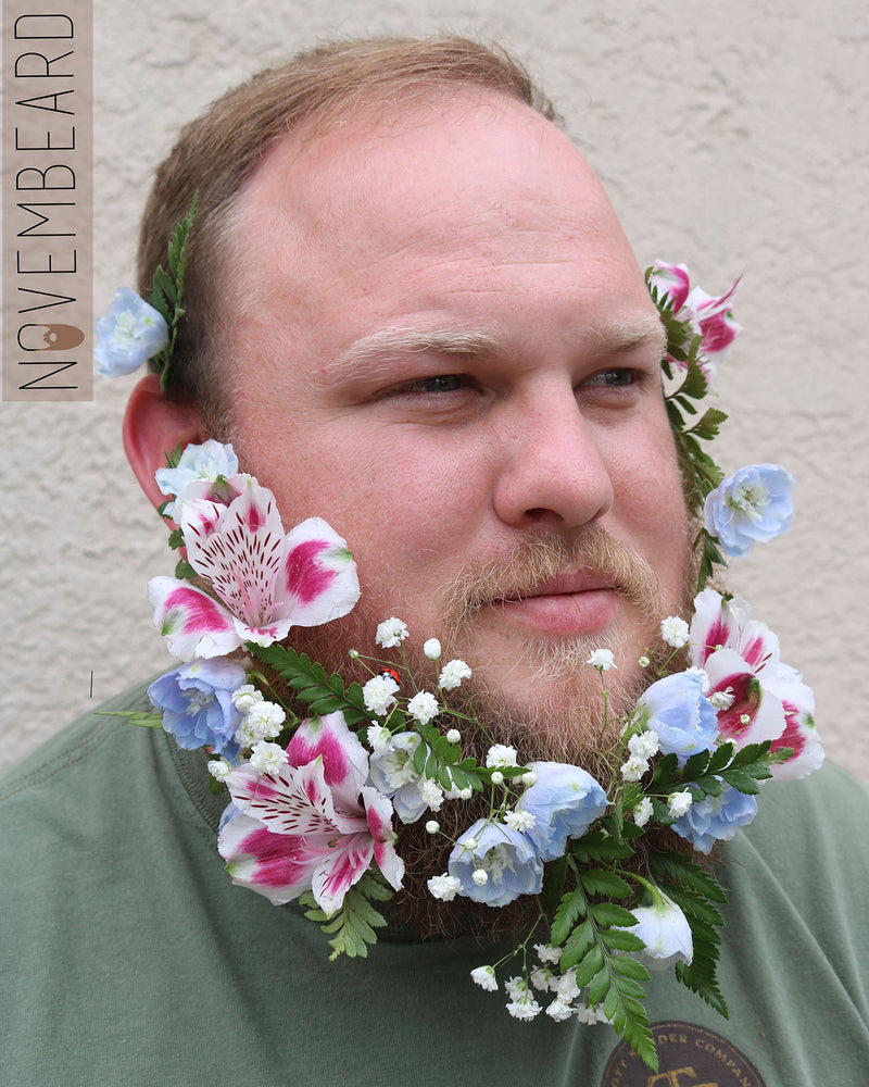 What's with the Flower Beards?