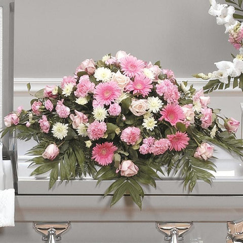 Pink Casket Spray CTT 62-11
