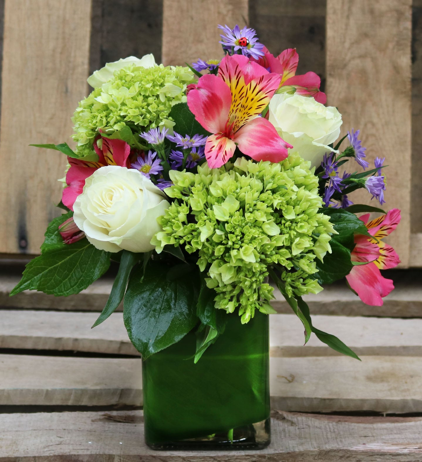 Early Spring Green Country Elegance Florists