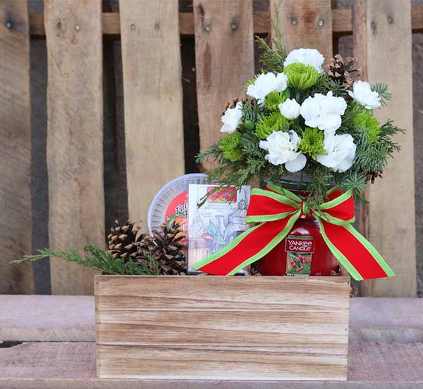 Festive Candle Gift Box