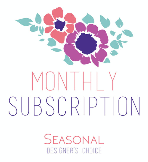 Monthly Floral Subscriptions