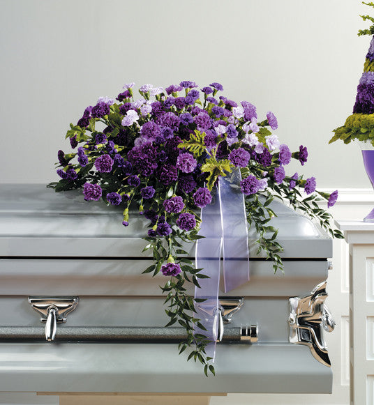 Purple Casket Spray SF 25-11
