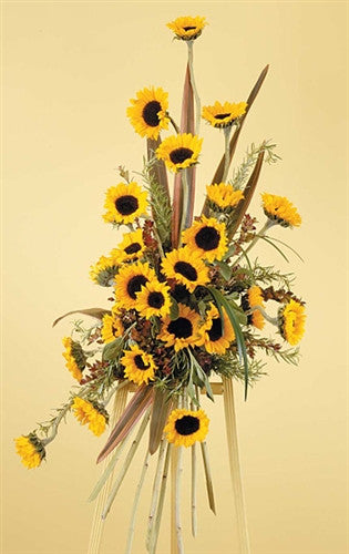 Sunflower Standing Spray SF 103-31