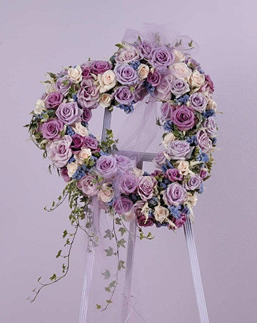 Lavender Rose Heart SF 42-11