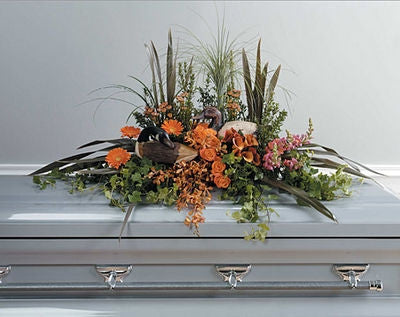 Outdoorsman Casket Spray