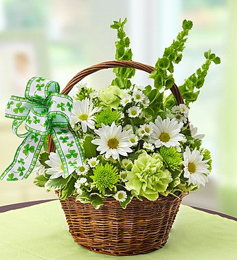 St. Patty's Flower Basket