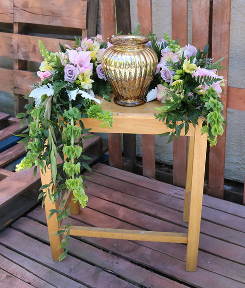 Country Elegance Original- Urn Wrap Wreath