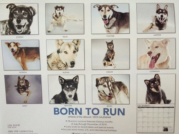 2015 Born to Run Calendar