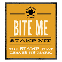 Bite Me Stamp Kit