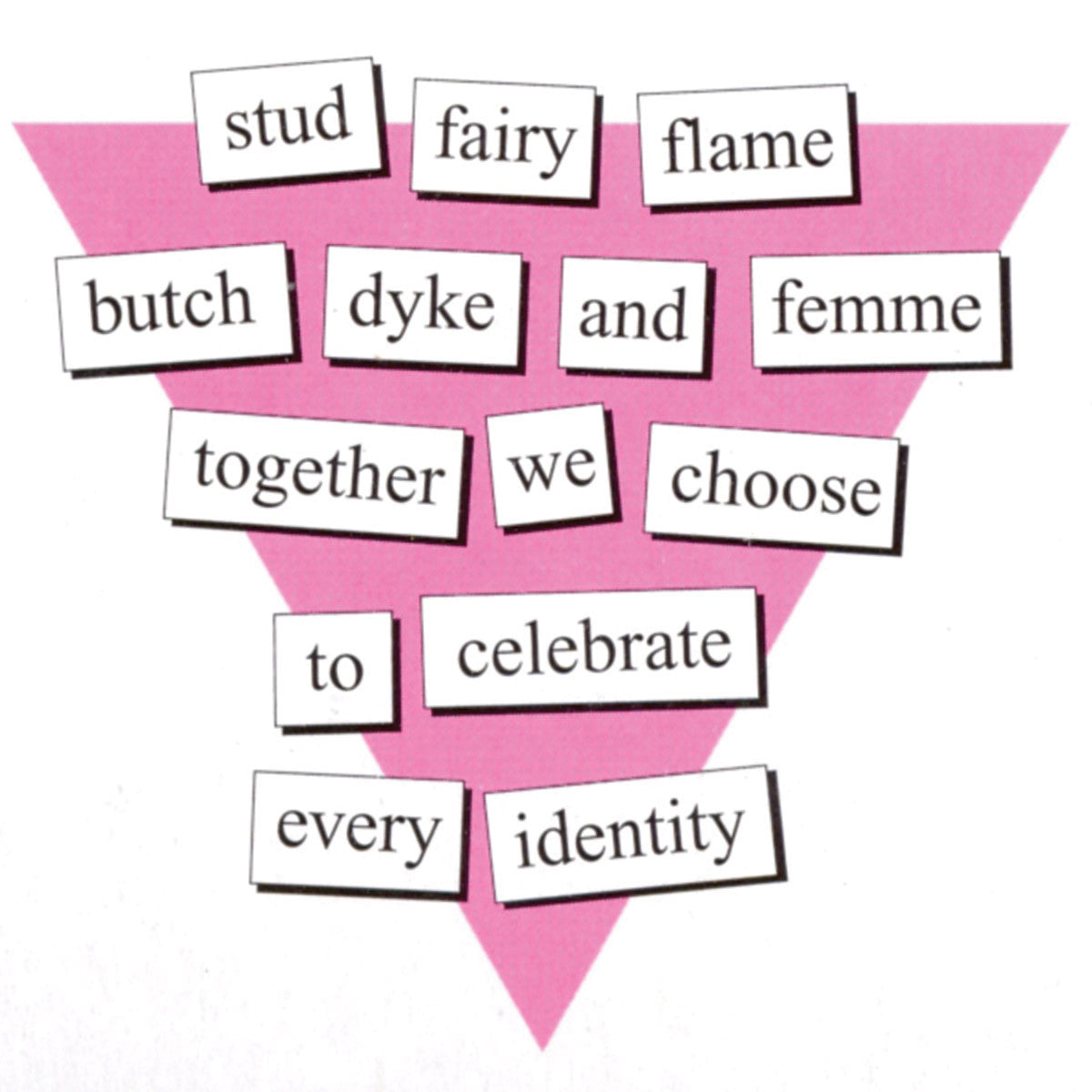 Magentic Poetry Kit: Queer