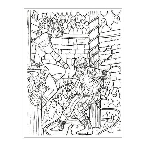 Fantasmic Coloring Book #NSFW