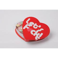 Let's F*ck Valentine Candy Heart Box
