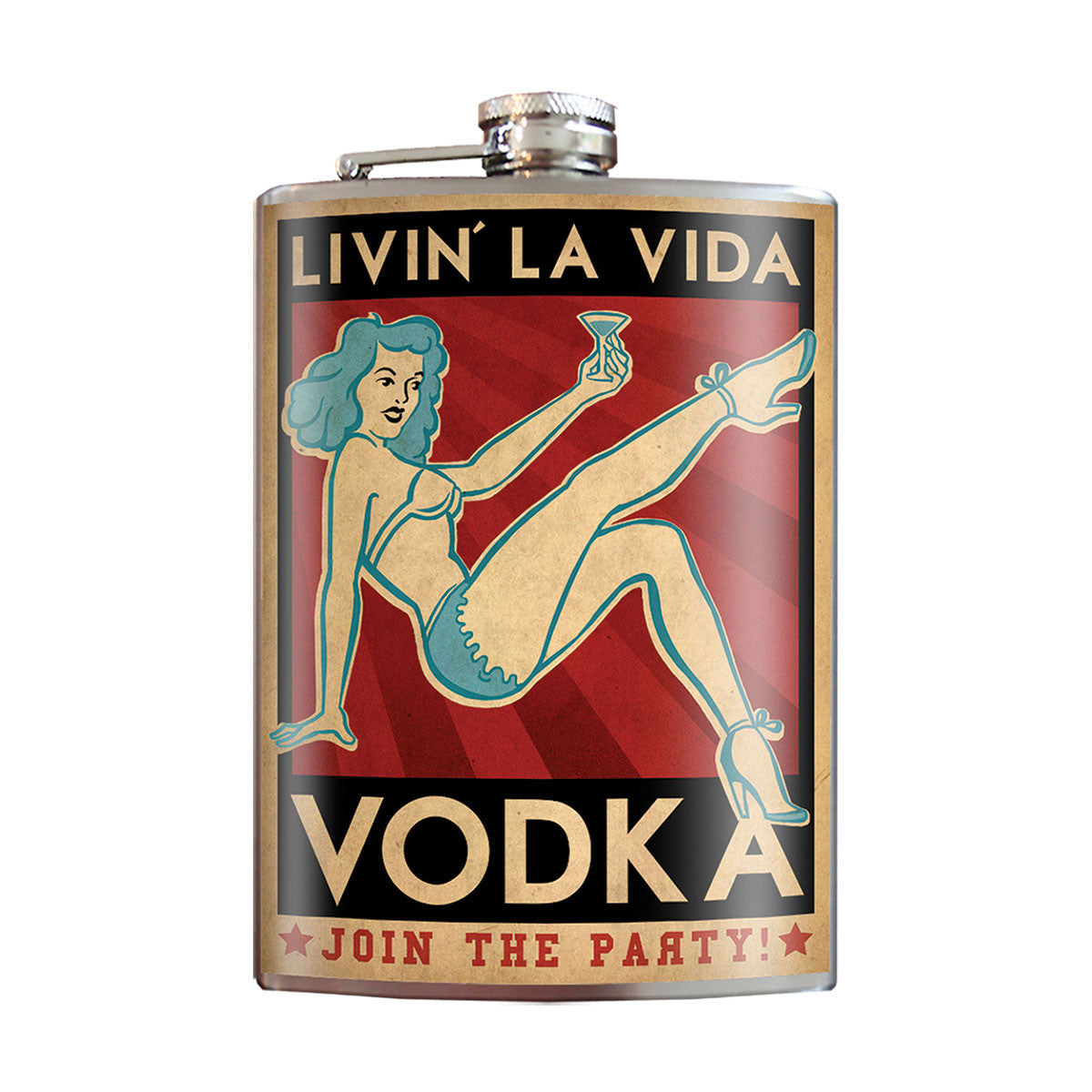 Flask - Livin La Vida Vodka