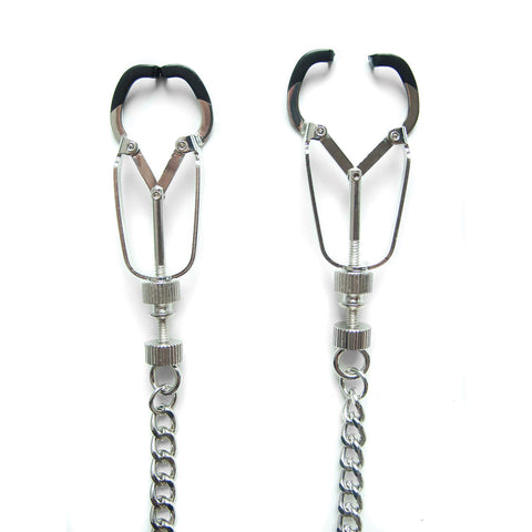 Mandible Body Clamps Silver