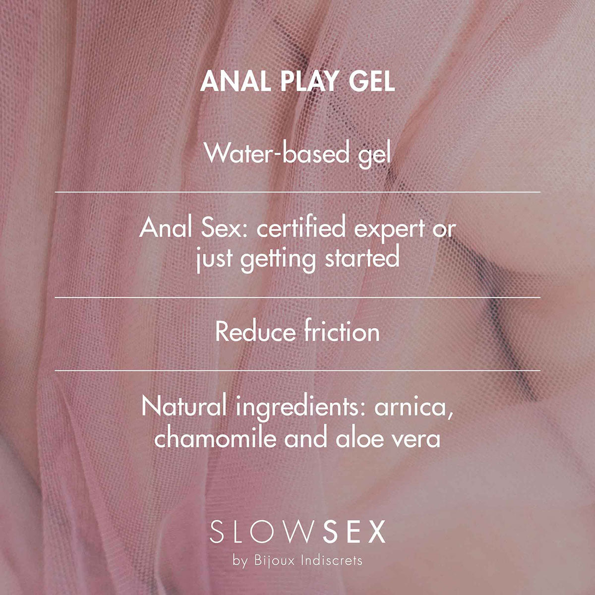 Slow Sex Anal Play Gel 1oz