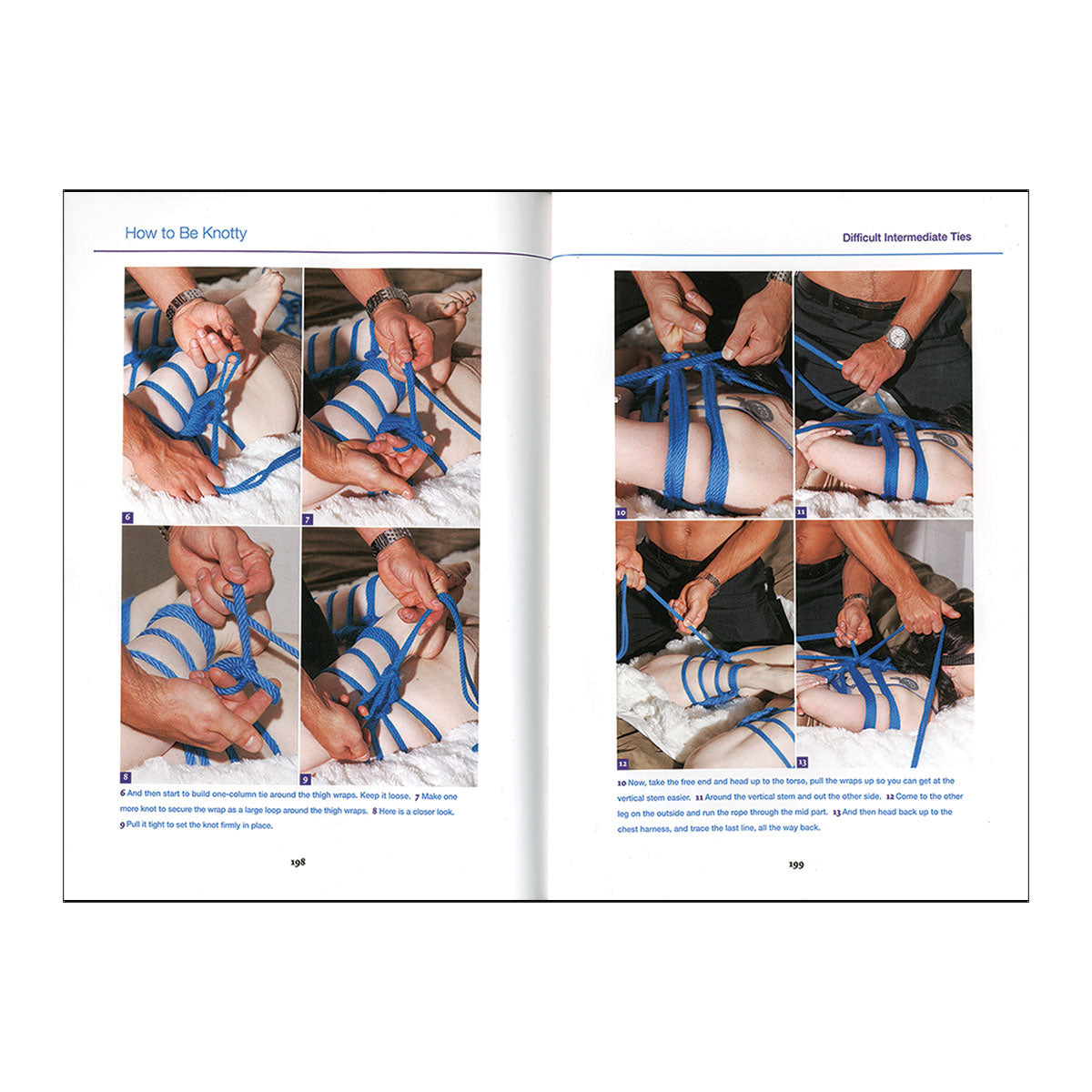 How to be Knotty: The Essential Guide to Modern Rope Bondage Book
