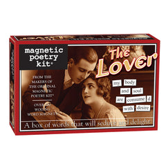 Magentic Poetry Kit: The Lover