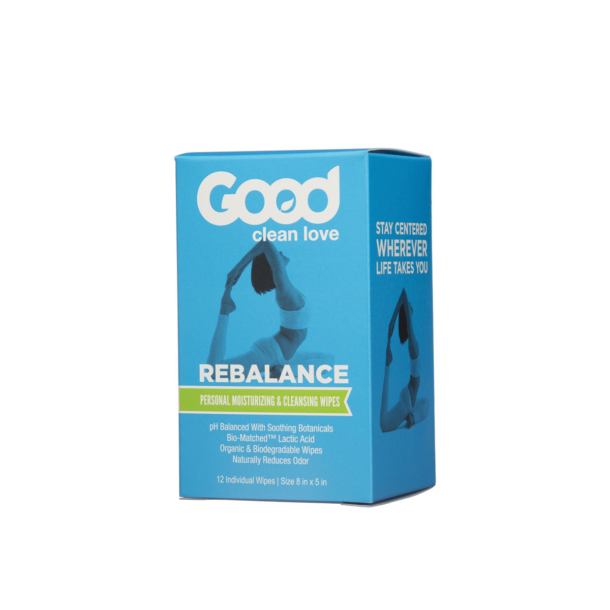 Rebalance Cleansing Wipes 12 ct.