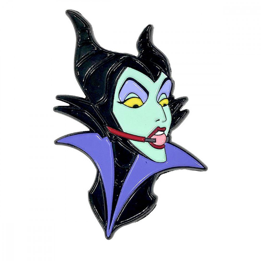 Geeky & Kinky Maleficent Ballgag Pin