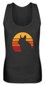 Degu - Vintage & Retro Eighties Style | Frauen Tank Top in Black in Größe S