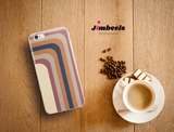 Zeigt soft colors shadow stripes colors of 2019 iphone case gift for woman and girls in Farbe iPhone 7/8