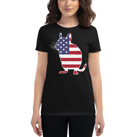 Degu USA | Frauen T-Shirt