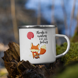 Thanks Flying Fox | Emaille Tasse