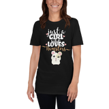Just A Girl Who Loves Hamsters | Unisex-T-Shirt