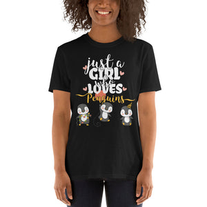 Just A Girl Who Loves Penguins | Unisex T-Shirt