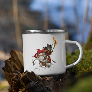 Barbarian Chinchilla Brothers | Emaille Tasse