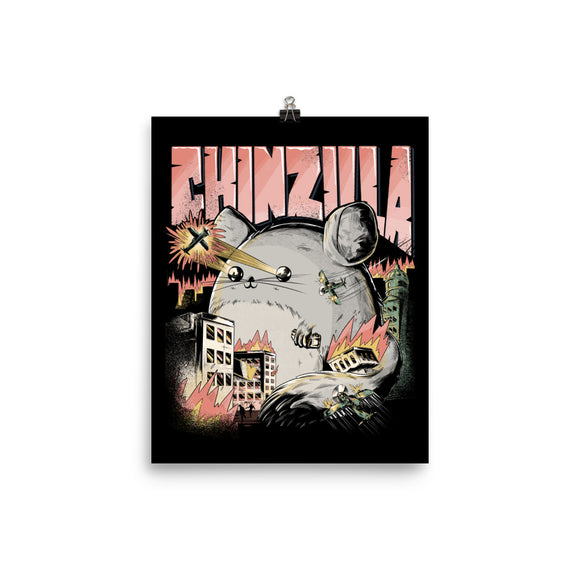 CHINZILLA | Photo Papier Poster in 8×10 in Größe