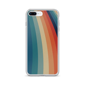 Zeigt Produktbild  VINTAGE Style | Color Stripes | iPhone CASE | Perfect Gift For Retro and Vintage Fans