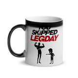 You Skipped Legday | Glänzende Zaubertasse