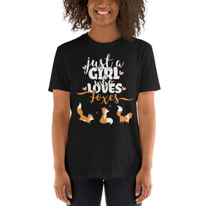 Just A Girl Who Loves Foxes | Unisex T-Shirt
