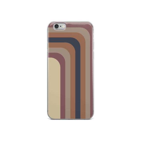 Zeigt Produktbild  Soft Colors | Shadow Stripes | Colors of 2019 | iPhone Case | Perfect Gift For Woman and Girls