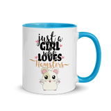 Just A Girl Who Loves Hamsters 2 | Zweifarbige Tasse