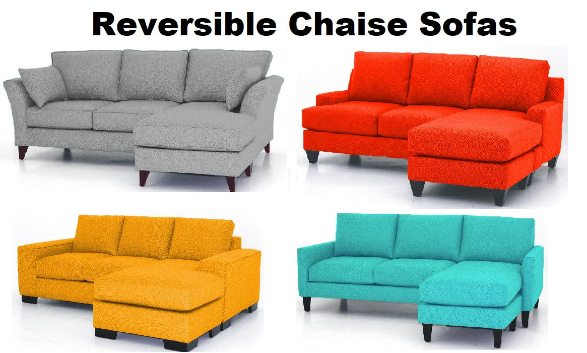 Reversible Chaise Sofas