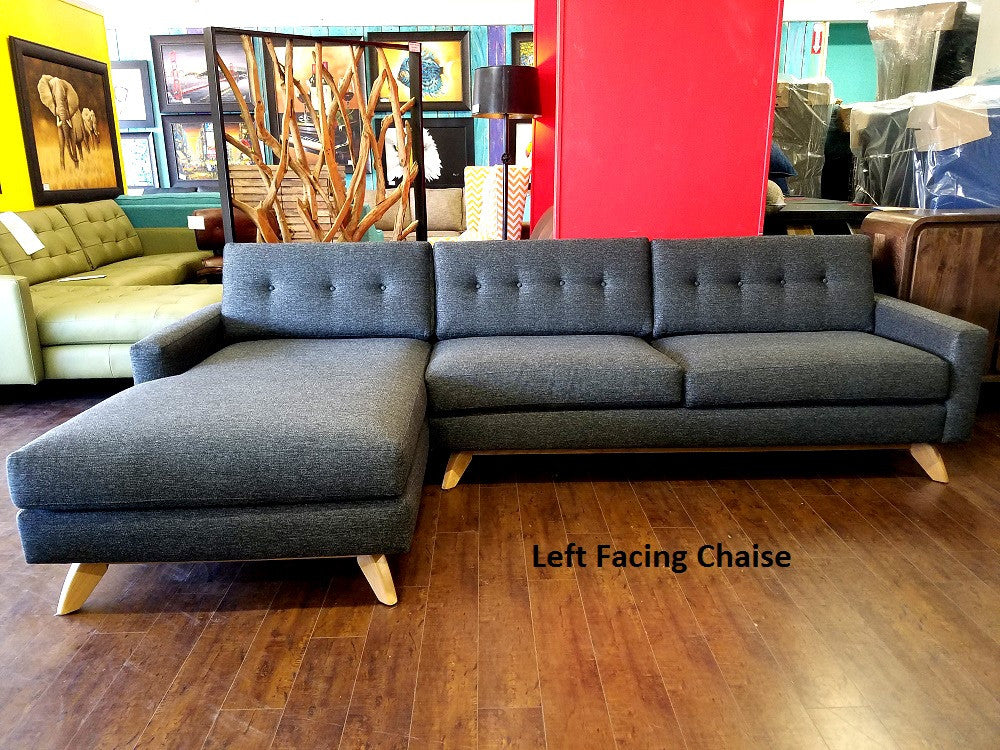 "117"" Venice Sectional"
