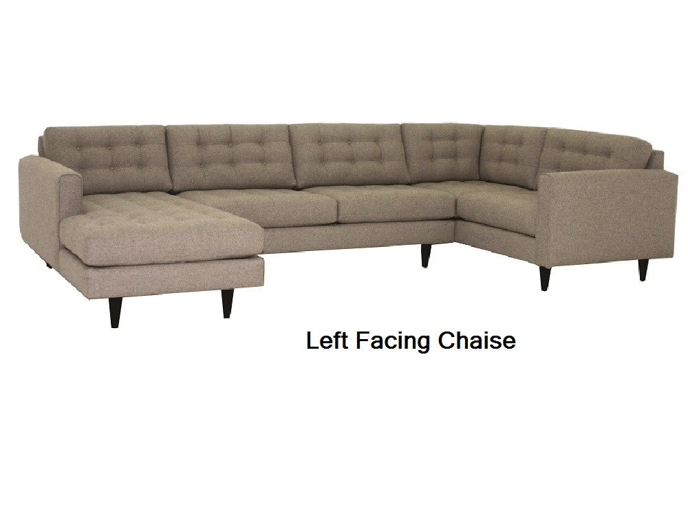 "143"" Redondo 3pc Sectional"