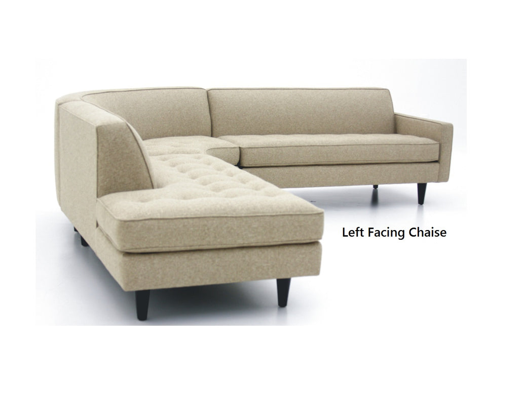 "Promo Special 3PC Hollywood Sectional 112"" x 112"""