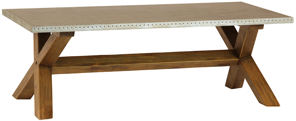 "Hammer Coffee Table 52""w x 28""d x 18""h"