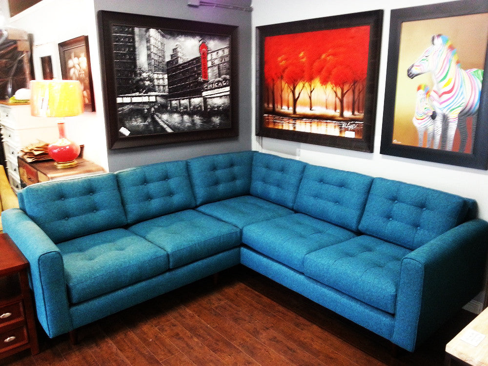 "Redondo 2PC Sectional 97""x97"""