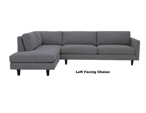 "The MidMod Sectional 119"" x 88"""
