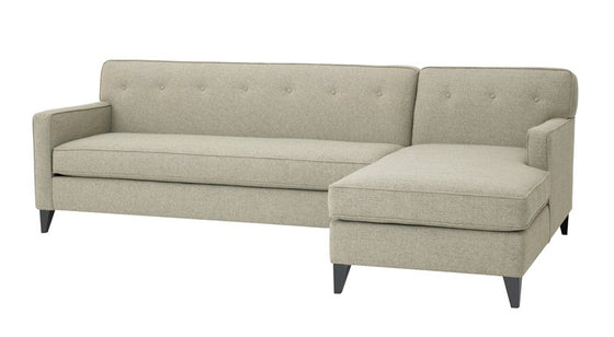"Promo Urbana 2PC Sectional 105""w x 65""d"