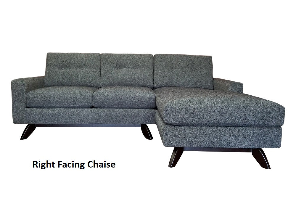 "Venice 2PC Sectional 87"" x 65"""