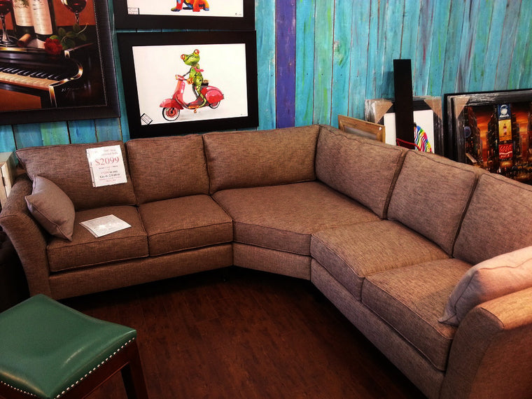 "Aria 3PC Sectional 108""x 108"""