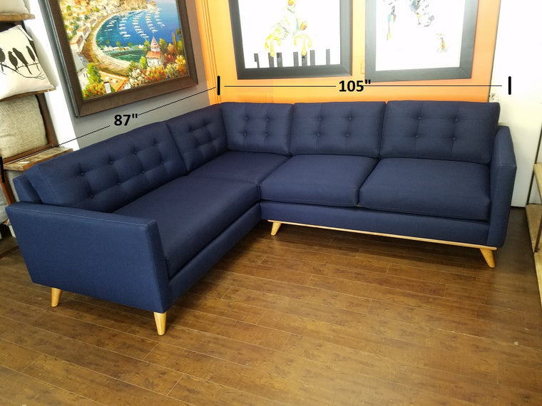 "Austin 2pc Sectional 105"" x 87"""