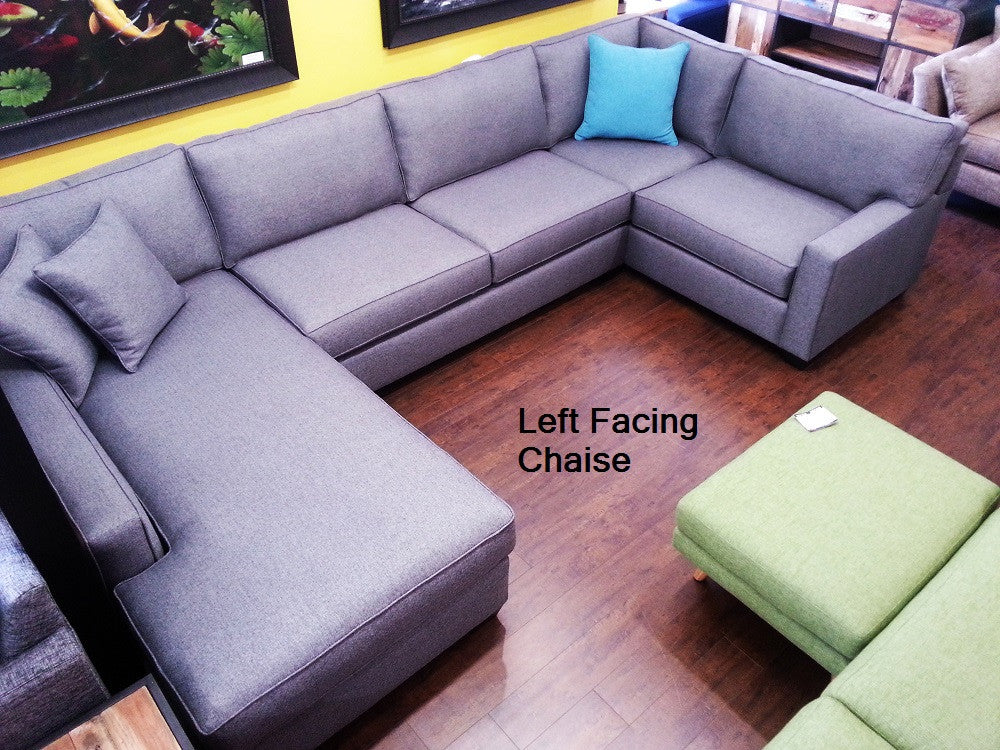 "143"" Lexington 3pc Sectional"