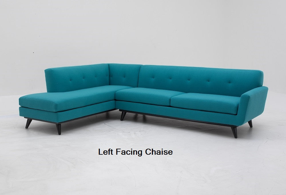 "118"" 2pc Dallas Sectional"