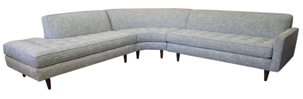 "Hollywood 3PC Sectional 112"" x 112"""